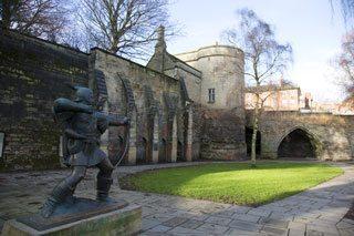 Nottingham Castle Credit: Experience Nottingham